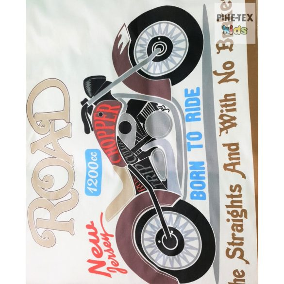 Bike motoros, 3 részes ágyneműhuzat garnitúra