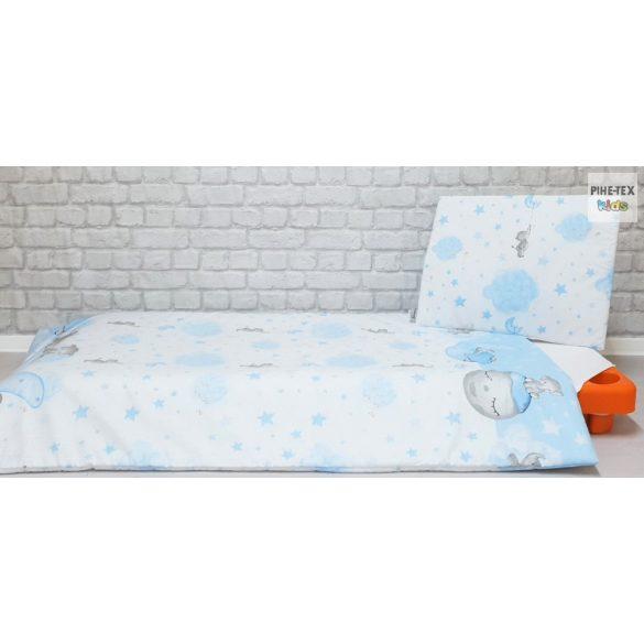 Bébi elefánt kék, gyermek, -ovis ágynemű (582/K)