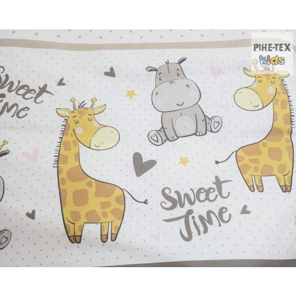 Sweet Time, Bézs 4 részes babaágynemű szett (595/B)