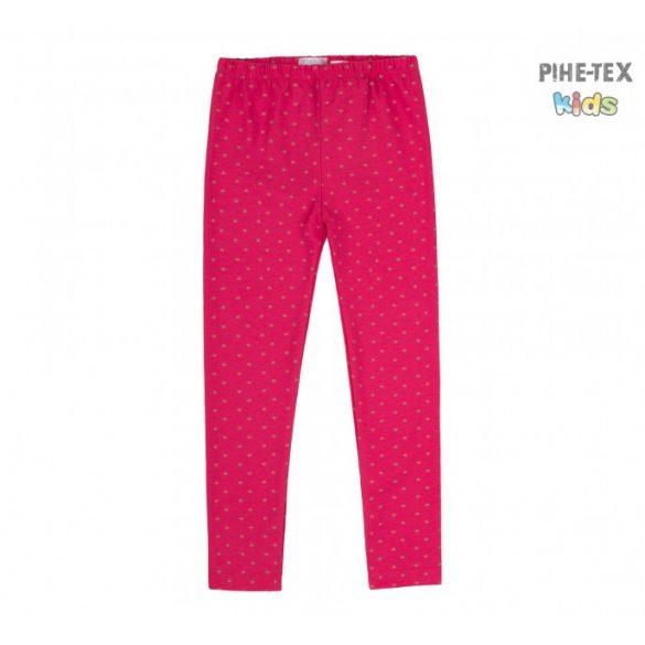 Bembi pink, csillagos leggings kislányoknak (SHR268)