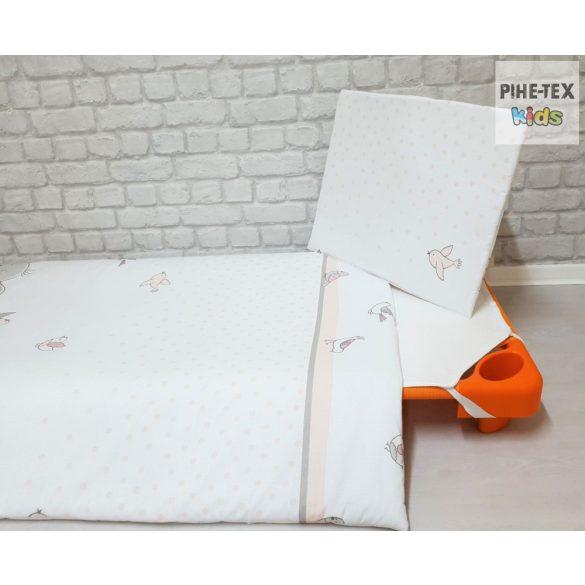Fáncsi, ovis ágynemű szett 90x140cm (587/R) (ovis huzat, 2 részes fehér)