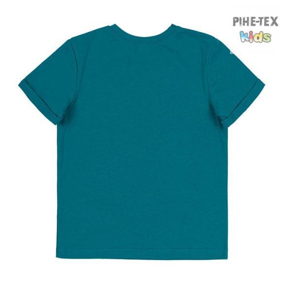 Bembi zöld, fiú póló, pálmafa mintával, Los Angeles felirattal  (FB695)