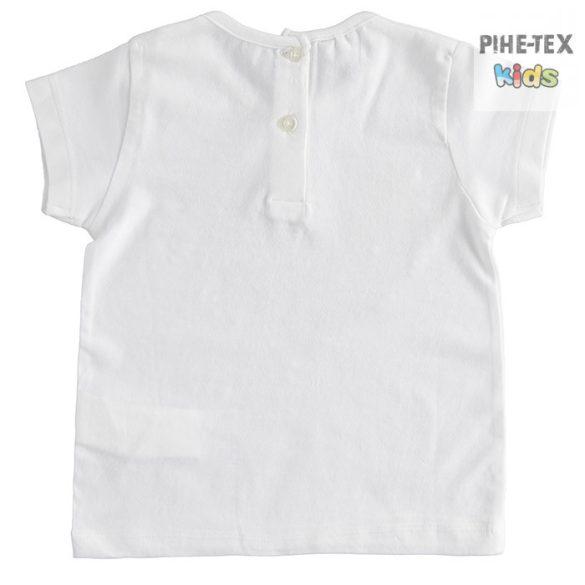 iDO lány, fehér, rövid ujjú póló, nyomott gyümölcs mintával (J759/00-0113)
