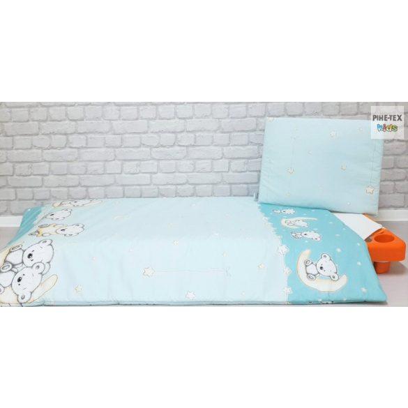 Holdon Ülő Macik zöld, gyermek-, ovis ágynemű (562/Z)