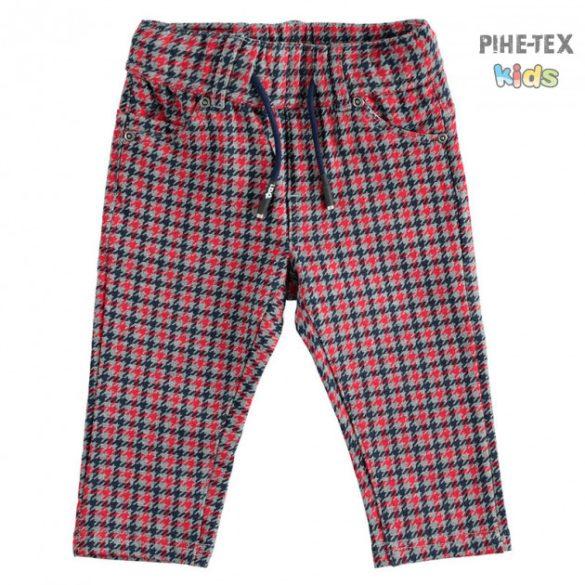iDO fiú, piros-szürke nadrág (K561/00-6LD3)