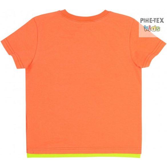 Bembi narancs, fiú póló, don't stop chasing felirattal (FB696)