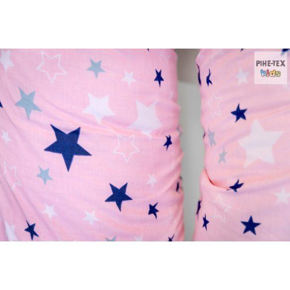 Rózsaszín csillagok,pihe-puha szopipárna (118/R)