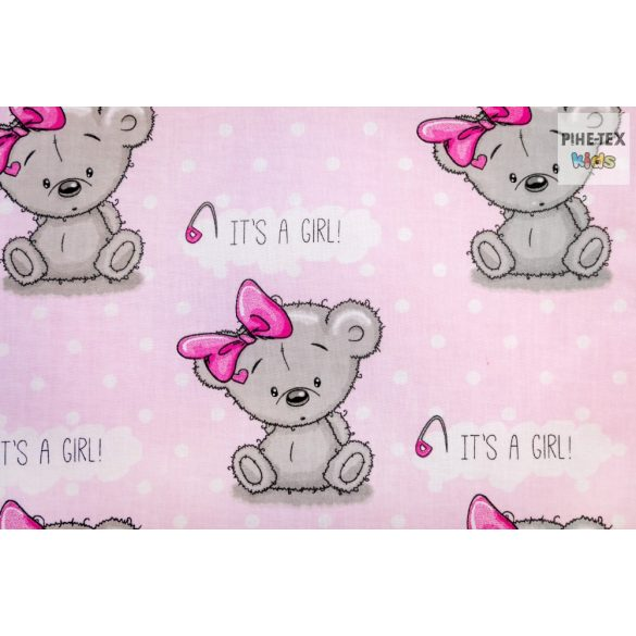 Maci Girl  babaágynemű huzat (481/R)