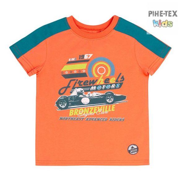 Bembi narancs, fiú póló, firewheels motors felirattal (FB694)
