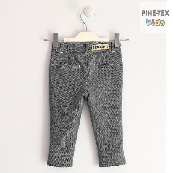 iDO fiú, szürke, apró mintás, nadrág (J240/00-6MF2)