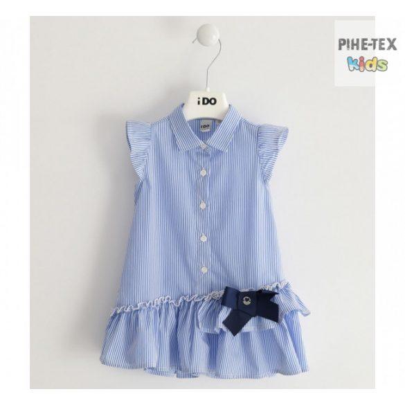 iDo lány, kék csíkos ingruha (J741-00-3616)