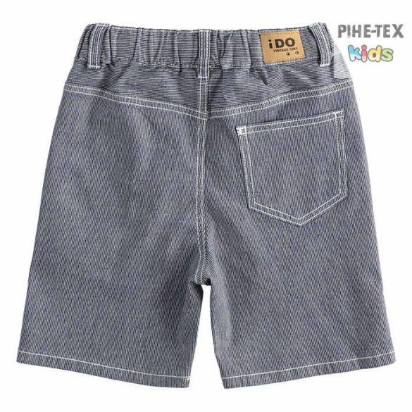 iDO fiú, szürke farmer rövidnadrág (J831/00-7450)