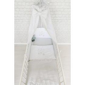 HÍMZETT, 4 részes baba ágynemű